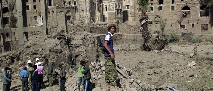 Na devastação do Iêmen as principais vítimas são as crianças