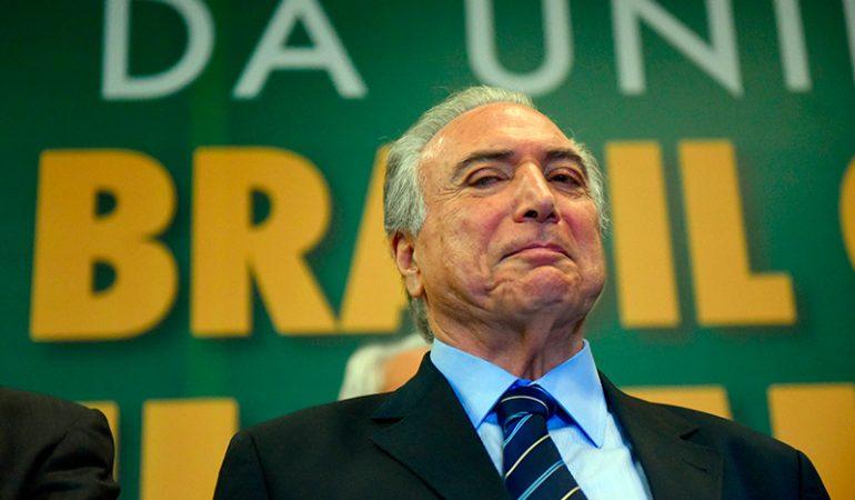 Temer coloca o Brasil na contramão das sociedades avançadas