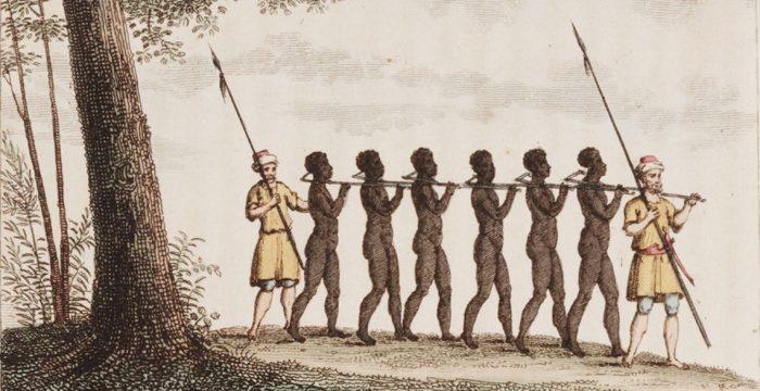 Africanos não venderam seu próprio povo para escravidão