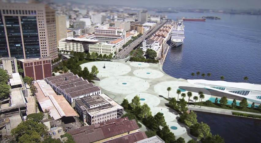 [Centro da Cidade] Praça Mauá e Porto do Rio de Janeiro Porto-maravilha
