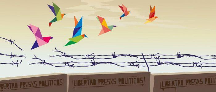 Lista reúne 54 presos políticos nos Estados Unidos