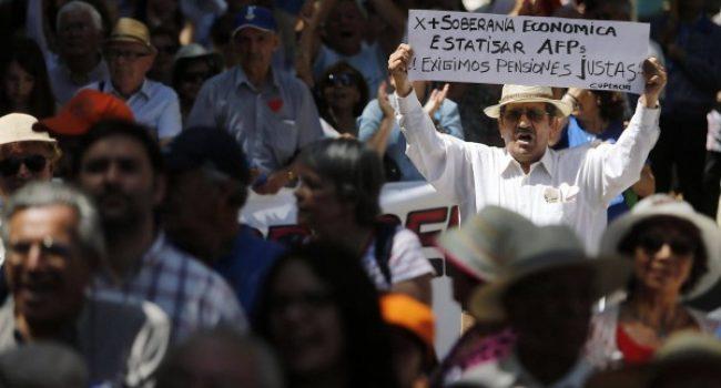 Chile: a rebelião dos aposentados