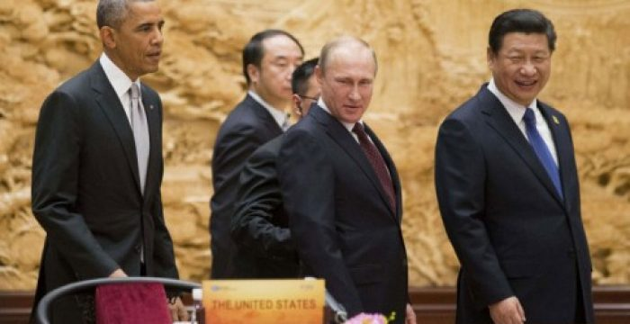 Eurásia, o pesadelo que atormenta Washington