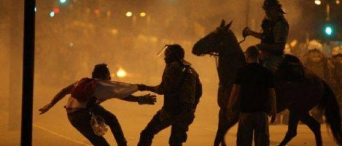 Brasília em chamas: diretas e violência