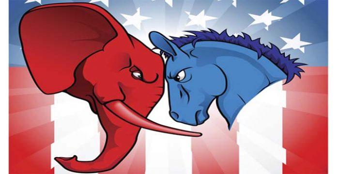 Maioria dos norte-americanos não confia nos partidos