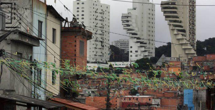 Brasil está em 39º lugar em novo índice de desigualdades da Oxfam