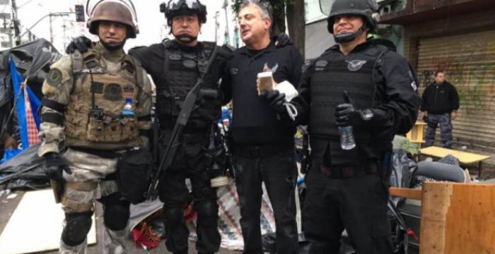 Cracolândia Sitiada: o novo urbanismo militar em São Paulo