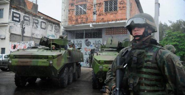 Rio sob ilegal intervenção federal e falsa GLO