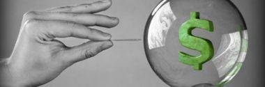 Turbulência nas bolsas é 'o princípio do fim de uma bolha especulativa'