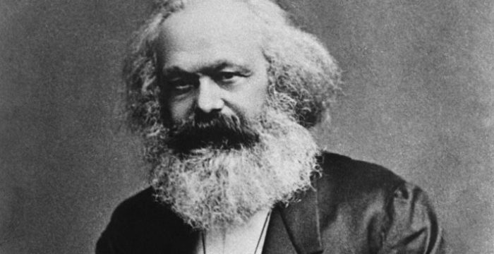 Karl Marx manda lembranças