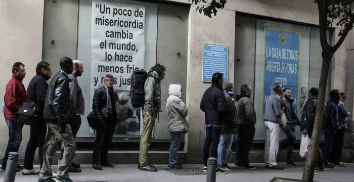 Mais da metade dos jovens na Espanha tem empregos temporários