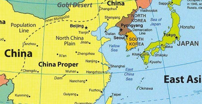 coreias mapa As duas Coreias realmente querem se entender – Controvérsia coreias mapa