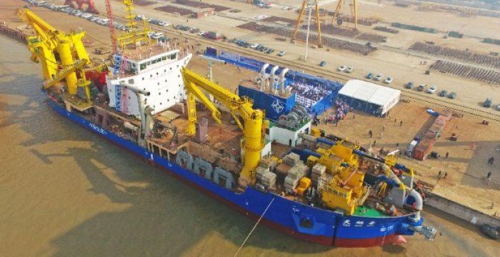 O navio chinês 'criador de ilhas' que pode mudar o mapa do sudeste da Ásia
