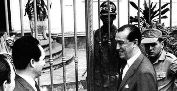 Nos anos 1960, um ex-presidente era investigado por causa de apartamento