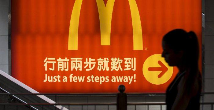 Os 'McRefugiados' de Hong Kong
