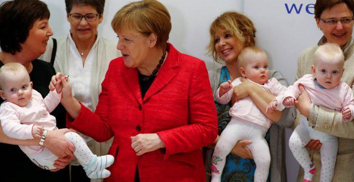 Alemães têm maior 'baby boom' em 20 anos