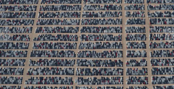 Deserto vira cemitério de veículos da Volkswagen