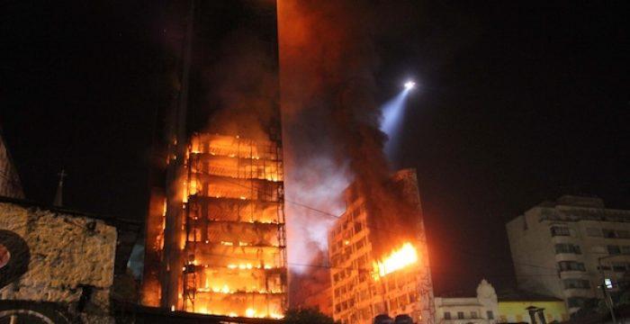 A falta de moradia é uma tragédia que só é lembrada quando pega fogo