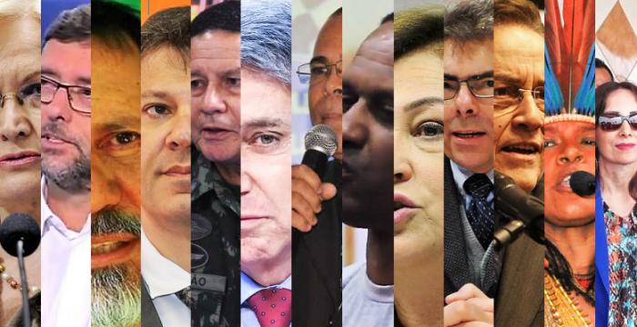 Eles podem assumir o governo: Conheça os candidatos a vice-presidente da República