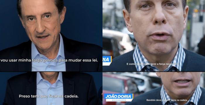 Com risco de derrota do PSDB em São Paulo, Dória passa a repetir discursos de seu próprio concorrente