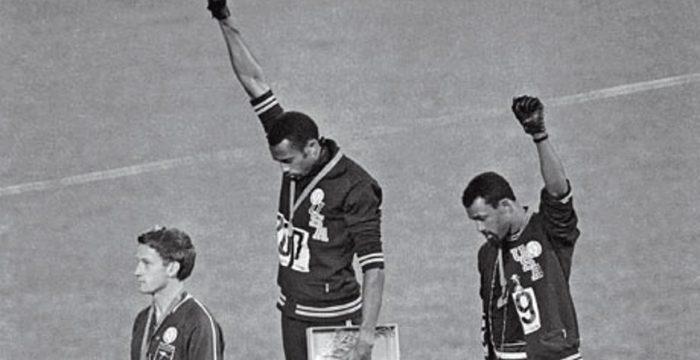 Há 49 anos, o pódio mais emblemático das Olimpíadas