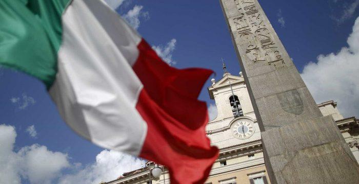 A Itália chocou com o icebergue