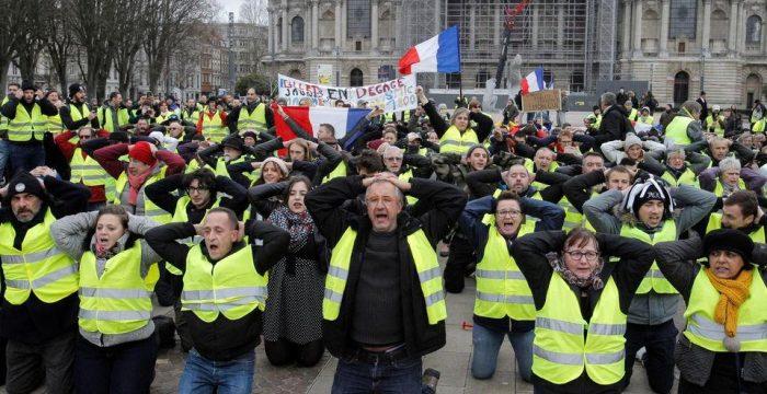 Coletes amarelos ou o esgotamento do estado neoliberal