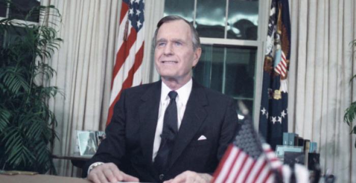 O legado sinistro de George H. W. Bush: crimes de guerra, racismo e obstrução da Justiça