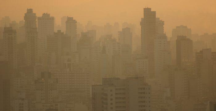Exposição à poluição é desigual na cidade de São Paulo