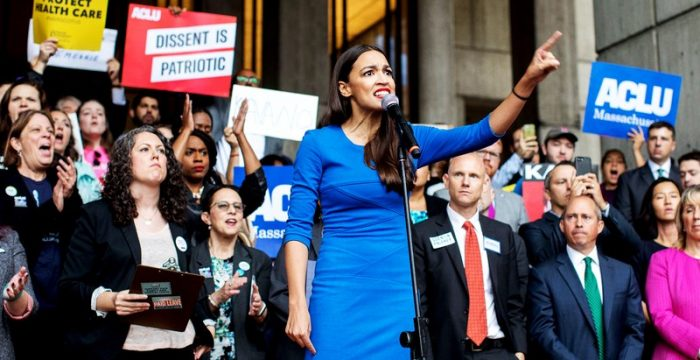 EUA: uma latina assusta os super-ricos