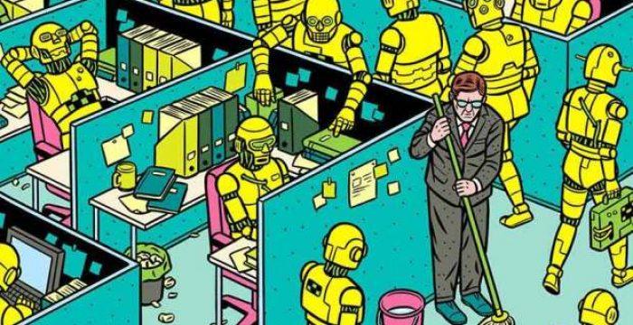 Seu trabalho pode ser substituído por uma máquina?