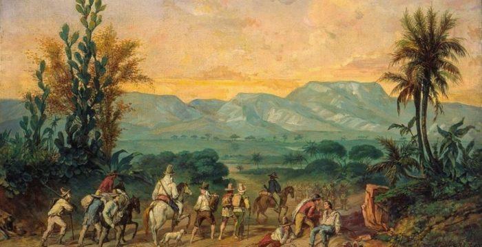 Citados como exemplo por Mourão, bandeirantes eram empreendedores da morte