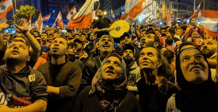 Por que o Líbano também diz basta!