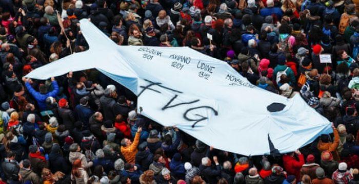 Itália: a esquerda renasce nas sardinhas