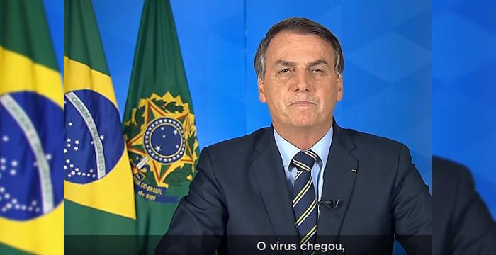 """""""O vírus chegou"""": considerações sobre o pronunciamento de Bolsonaro em rede nacional"""